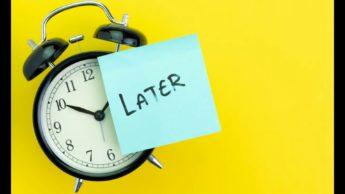 7 tips to beat procrastination