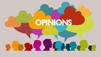 Don't let opinions affect you