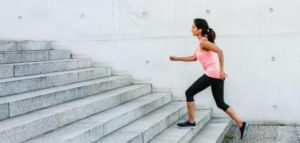 Use stairs to shed extra kilos