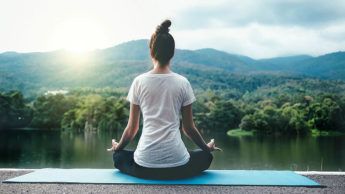 Yoga boosting peace in life